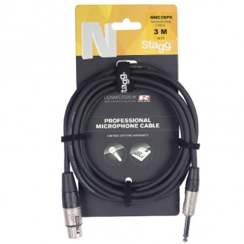Stagg NMC3XPR 3m Microphone Cable