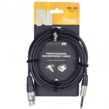 Stagg NMC6XPR 6m Microphone Cable