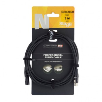 Stagg NAC3MX4FMX4MR 3m Audio Cable