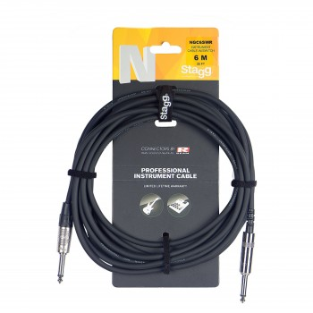 Stagg NGC6SWR 6m Instrument Cable