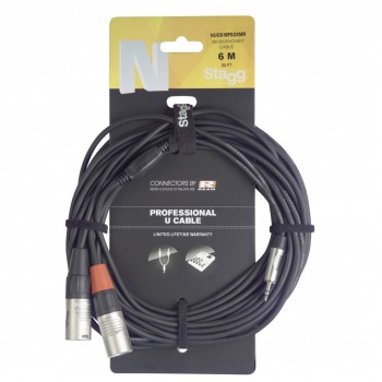 Stagg NUC3/MPS2XMR 3M U Cable