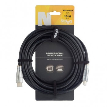 Stagg NVC10HAM 10m HDMI Cable
