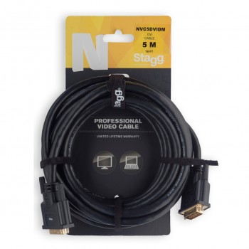 Stagg NVC5DVIDM 5m Video Cable
