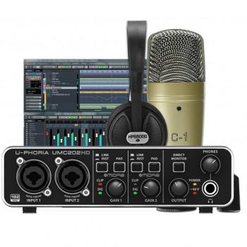 Behringer U-Phoria Studio Pro Recording/Podcasting Bundle