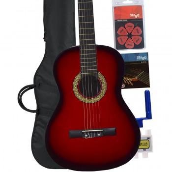 Red Burst Classic Guitar pack