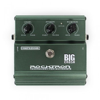 Rocktron Big Crush Compressor Guitar Effects pedal