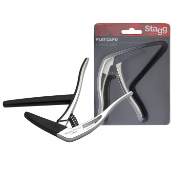 "Stagg Flat ""trigger"" Capo for Classical Guitar"