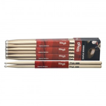 Stagg SM5A Maple Sticks-Wodden Tip
