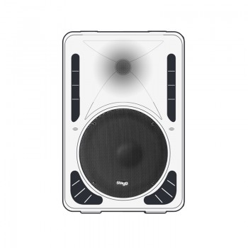 "Stagg SMS10"" 150 Watt White"