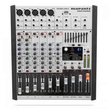 Marantz Sound Live 8 8-Channel / 2-Bus Tabletop Mixer