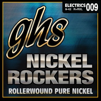 GHS R+RXL Nickel Rockers Pure Nickel Electric Guitar Strings - .009-.042 Extra Light