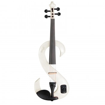 Stagg Electric Modern Violin white