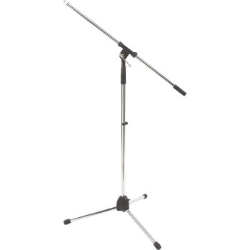 Stagg Chrome Microphone Boom Stand