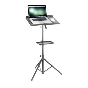 Stagg COS 10 BK Computer Stand with Extra Table