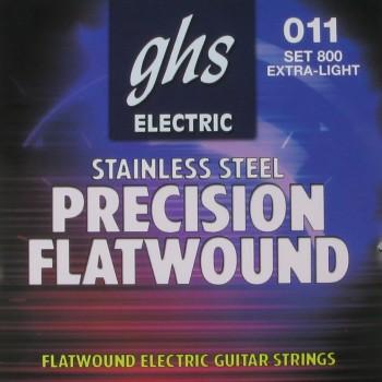 GHS 800 Set Electric guitar precision flatwound