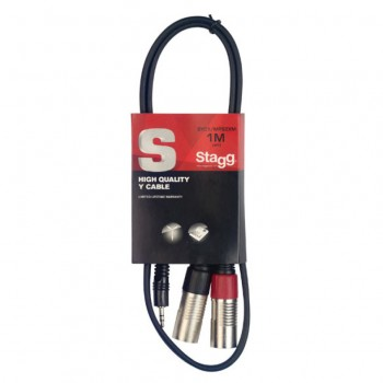 Stagg SYC1/MPS2XM 1m Y Cable
