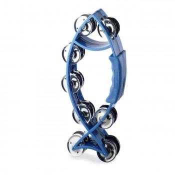 Stagg Fish Tambourine - Blue