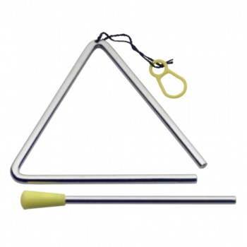 Stagg Triangle with Beater of Length 4 inch