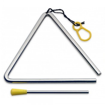 Stagg Triangle with Beater of Length 6 inch