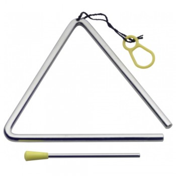 Stagg Triangle with Beater of length 8 inch