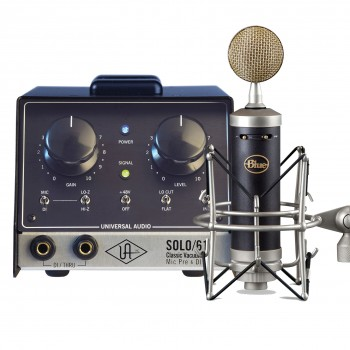Universal Audio SOLO/610 Bundled with Blue mic Bottle
