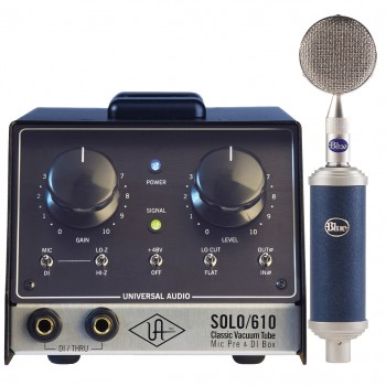Universal Audio SOLO/610 Bundled with Blue mic Rocket