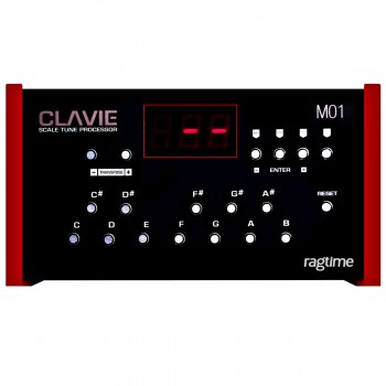 Clavie universal arabic scale box