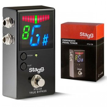 Stagg PTU-C8 Automatic Chromatic Pedal Tuner