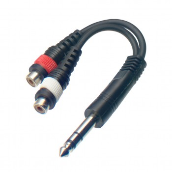 STAGG YC-0,1/1PMS2CF 60cm Y Cable