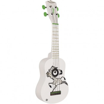 Stagg US Zebra Graphic Soprano Ukulele